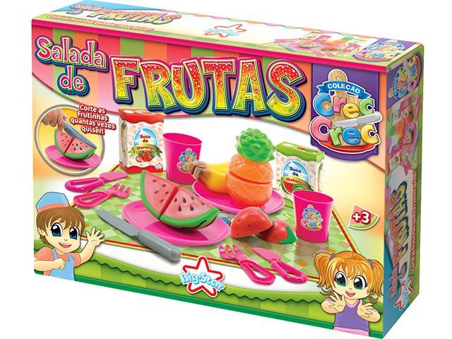 Kit Comidinhas Crec Crec Salada de Frutas Big Star
