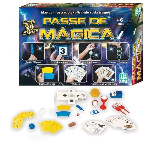 Kit de Magica Passe de Mágicas Nig