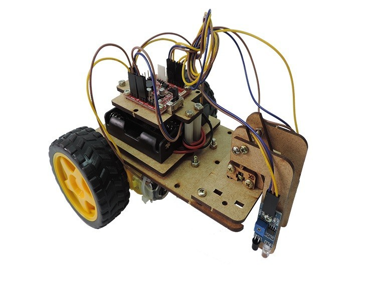 Kit de Robótica Educacional Brinquedo Educativo de Montar