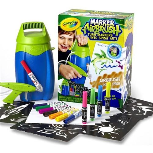 Kit Pintura Marker Airbrush Canetas Spray para pintura lavável e para tecido