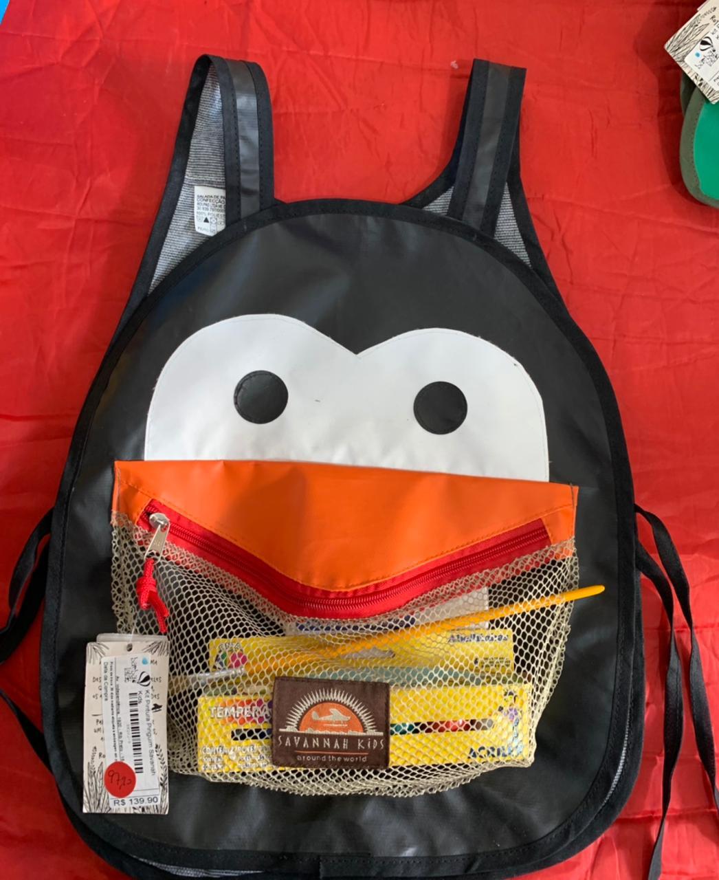 Kit Pintura Pinguim