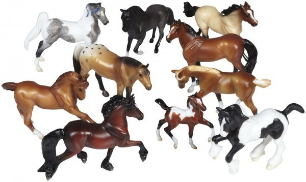 Kit Stablemates Horse Set Breyer
