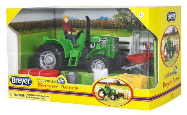 Kit Stablemates Trator da Fazenda Breyer