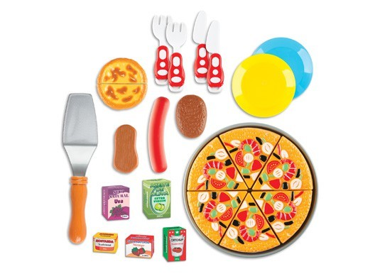 Kits Comidinhas de Brinquedo Food Delivery Pizza