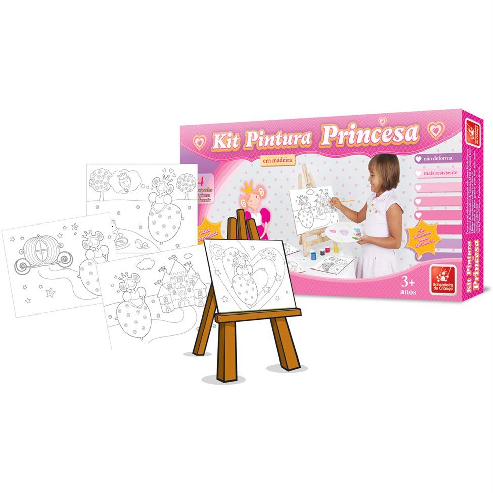 Kits de Pintura Princesa