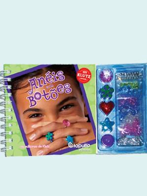 Livro de Arte e Artesanato Anéis com Botões Catapulta