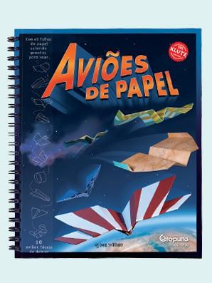 Livro de Arte em Dobradura Aviões de Papel