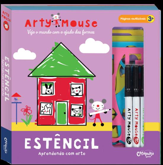 Livro de Atividades Arty Mouse Estêncil