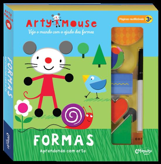Livro de Atividades Arty Mouse Formas Aprendendo Com Arte