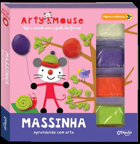 Livro de Atividades Arty Mouse Massinha