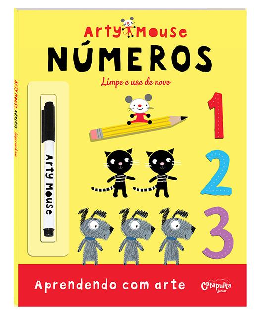Livro de Atividades Arty Mouse Números