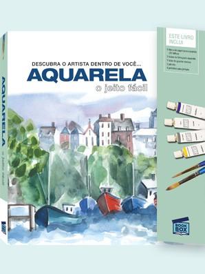 Livro de Pintura  Aquarela o Jeito Fácil