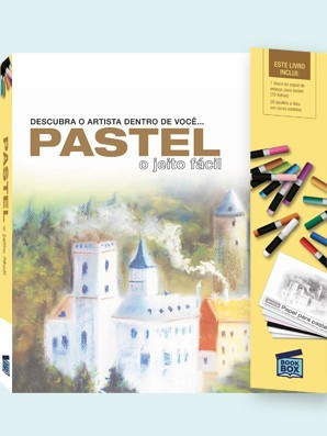Livro de Pintura Pastel O Jeito Fácil