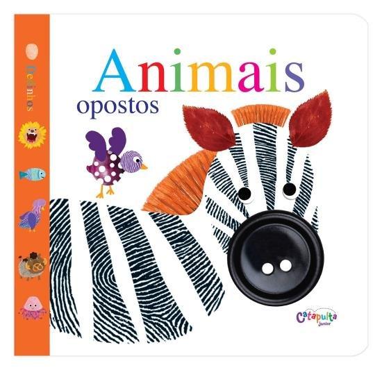 Livro Dedinhos Animais Opostos
