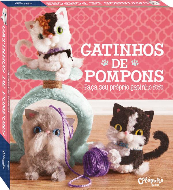 Livro Gatinhos de Pompons Catapulta