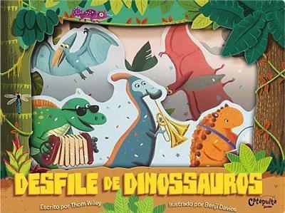 Livro Infantil Desfile dos Dinos
