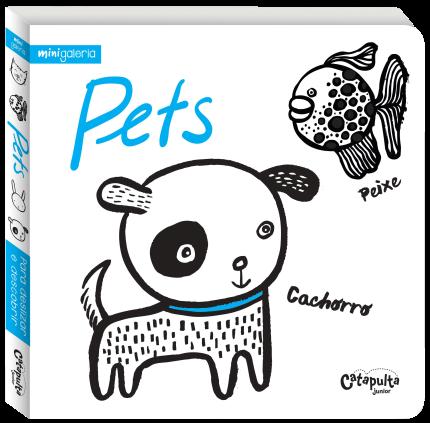 Livro Infantil Mini Galeria Pets