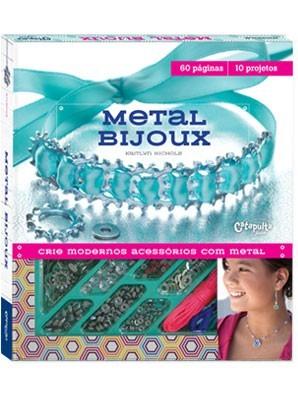 Livro Kit de Artesanato Infantil Faça Você Mesmo Metal Bijoux