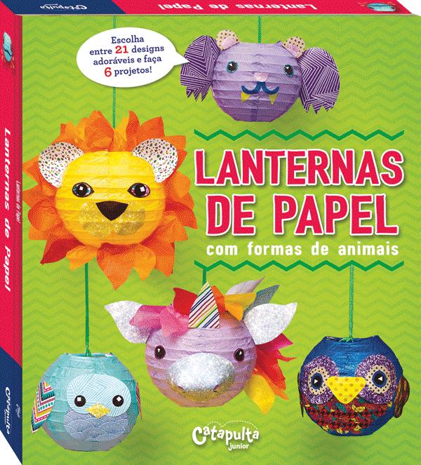 Livro de Artesanato Lanternas de Papel