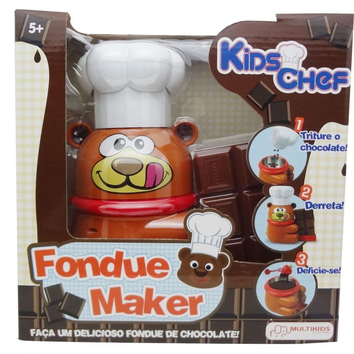 Maquina de fondue Kids Chef Faz de Verdade