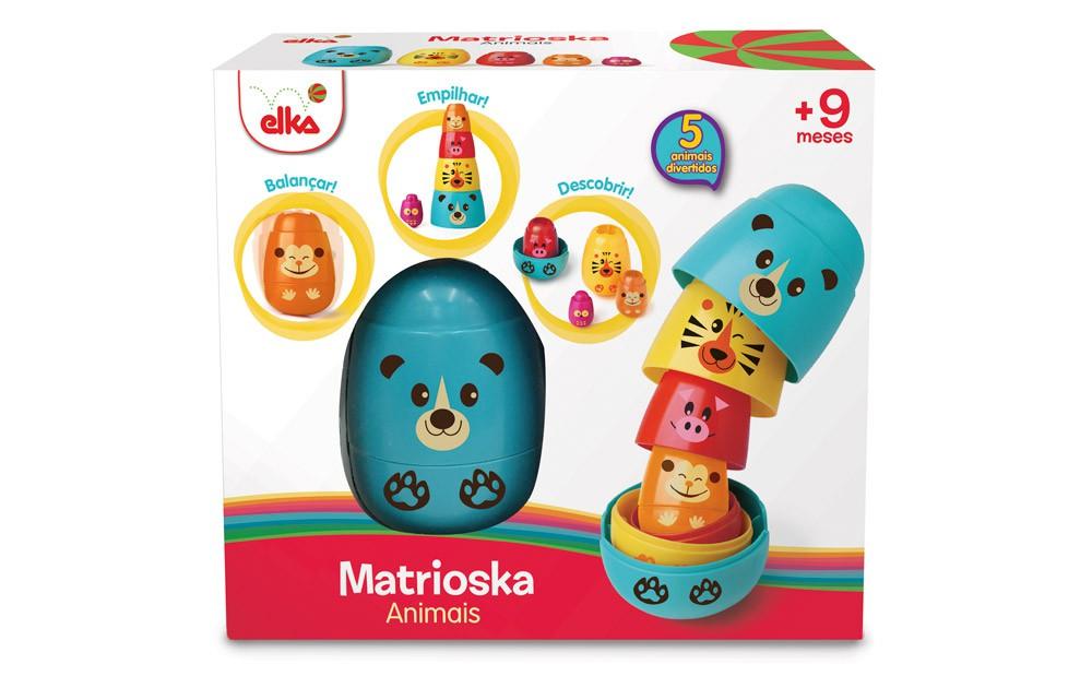 Matrioska Animais Elka