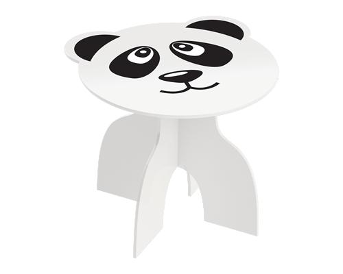 Mesa Infantil de Madeira Animalkids Panda