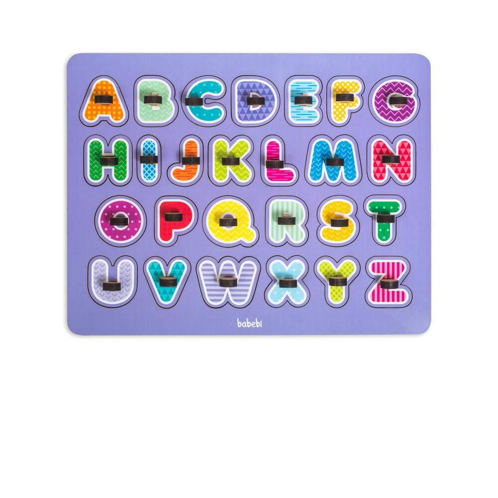 Meu Primeiro Quebra cabeça Alfabeto Brinquedo Educativo