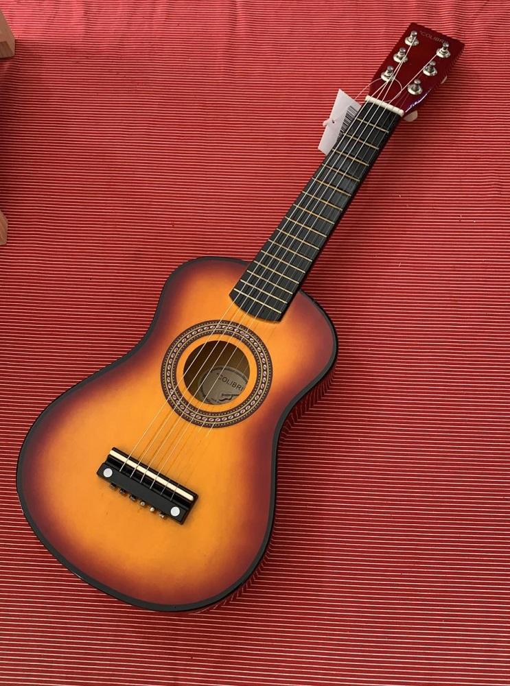 Mini Violão com Afinação Instrumento Musical Infantil