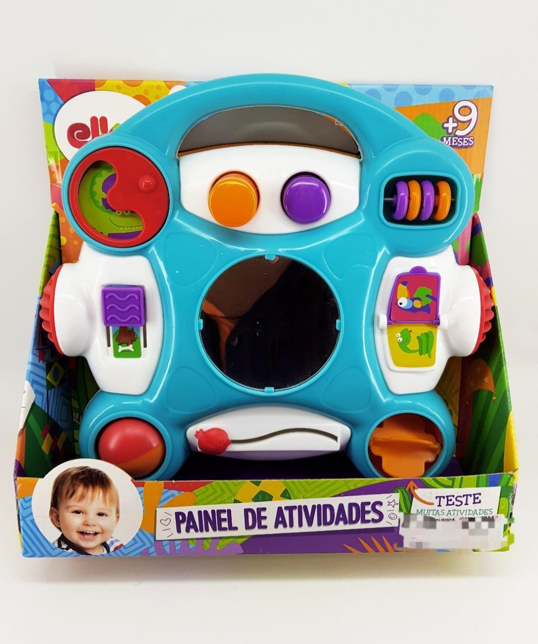 Painel de Atividades Brinquedo Educativo