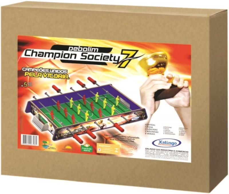 Pebolim Champion Society Xalingo