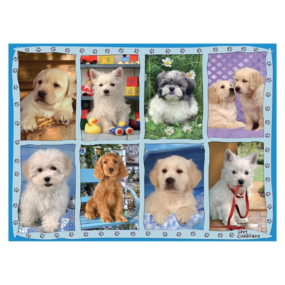 Puzzle 500 Peças Adoráveis Cãezinhos Grow