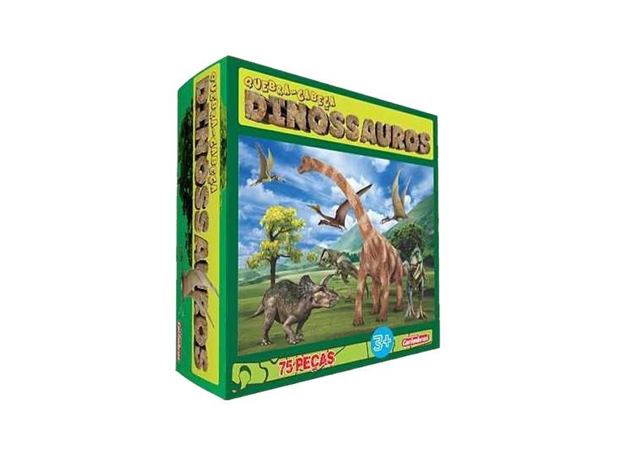 Quebra Cabeça de Madeira Dinossauros