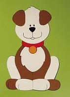 Quebra Cabeça de Madeira Placa Grande Cachorro
