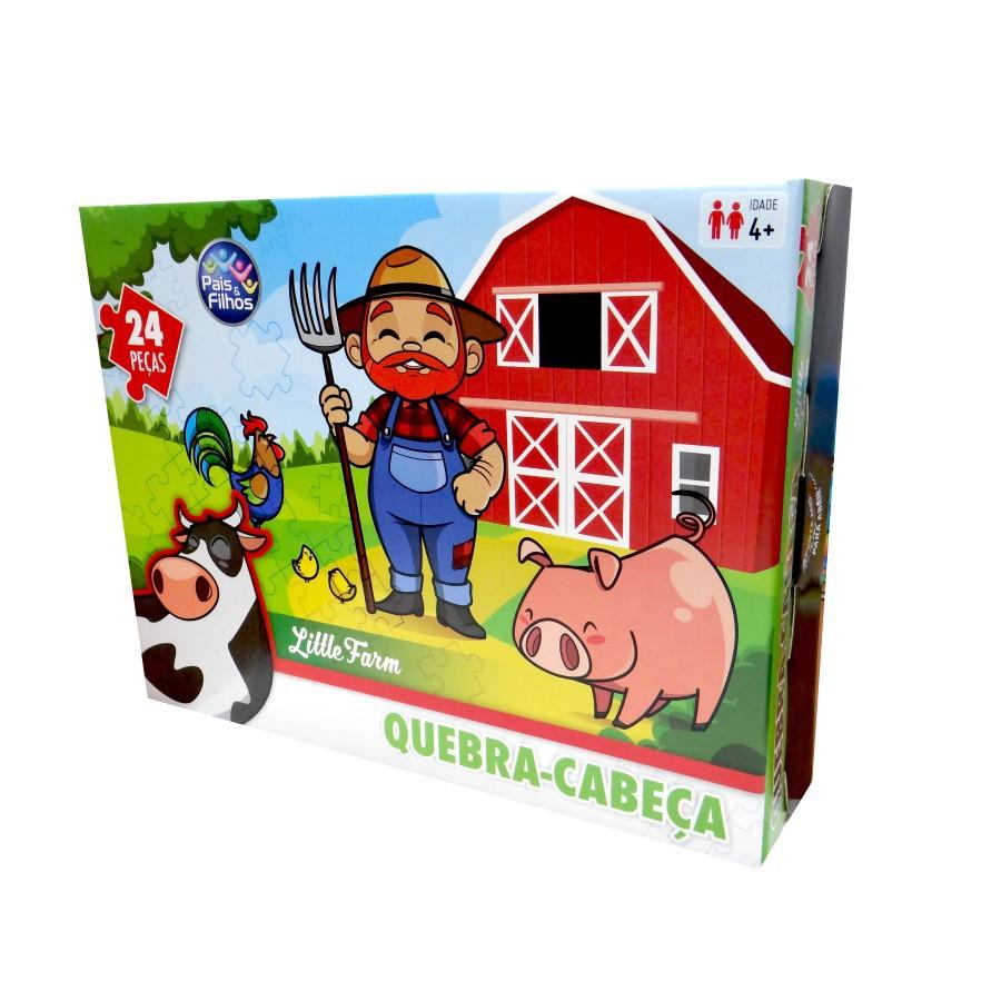 Quebra Cabeça Little Farm 24 Peças
