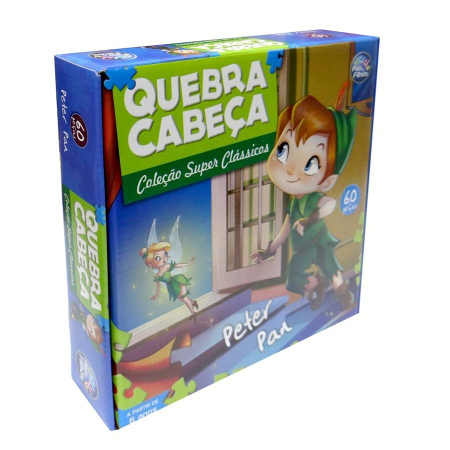 Quebra Cabeça Peter Pan 60 Peças