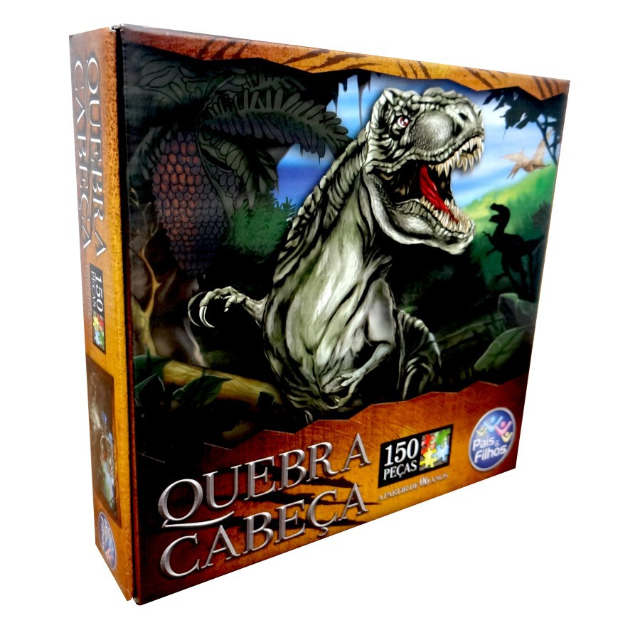 Quebra Cabeça T Rex 150 Peças