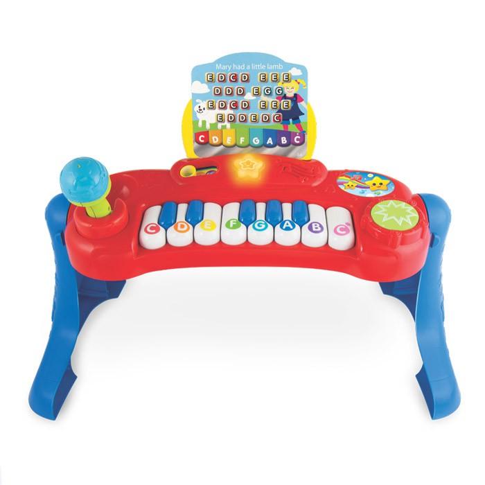 Teclado Bebê Musical WinFun Beat Bop Baby