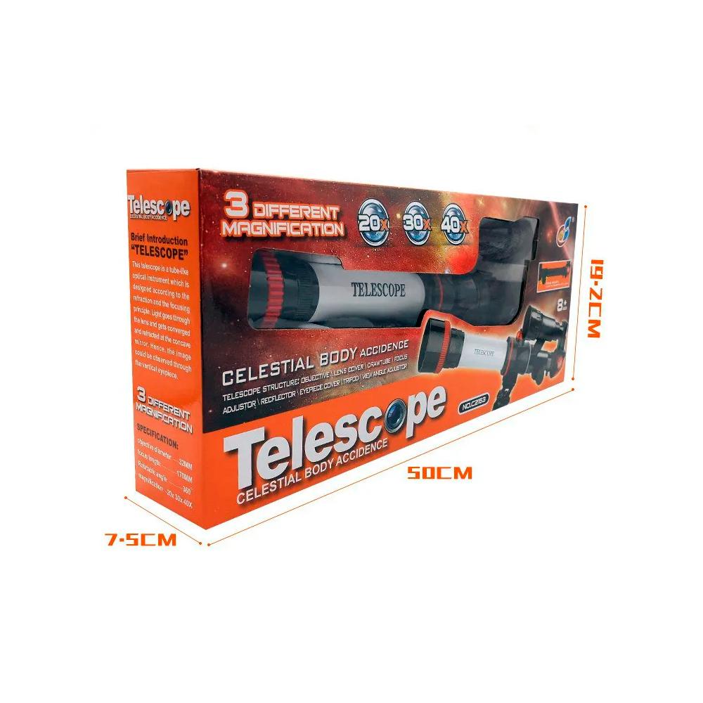 Telescópio infantil Brinquedo Educativo