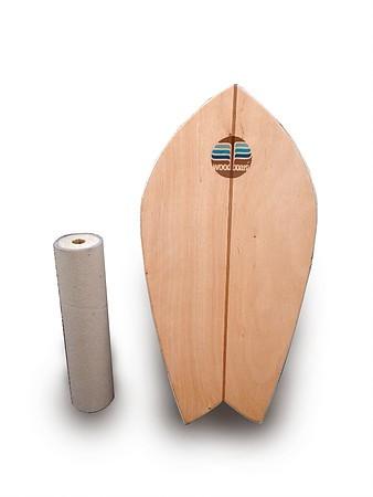 Woodboard Prancha de Equilíbrio de Madeira