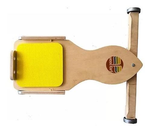 Woodkart Carrinho de Rolimã  Brinquedo de Madeira
