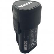 Bateria de Lítio 12v Wesco WS9879 1.5Ah 18Wh