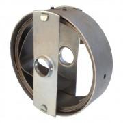 """Caixa com Mola 50mm Porta de Aço 4,5 Metros Furo 1.1/4"""""""