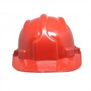 Capacete Plástico PLT Plastcor Vermelho