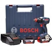 """Chave de Impacto à Bateria 1/4"""" e 1/2"""" 18V Bosch GDX 18 V-EC"""