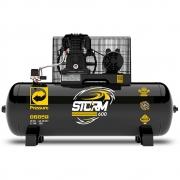 Compressor de Ar Storm 600 Trifásico 20 Pés 200 Litros 220/380 V