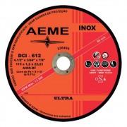 """Disco Corte Fino Ultra Inox DCI-612 Aeme 4.1/2""""X1,2mm"""