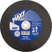 Disco de Corte Aço Norton Metal Maxi AR 302 10 x 1/8 x 5/8