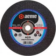 Disco de Corte Aço Profissional Aeme DCA 402 10 x 1/8 x 1 Pol