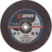 Disco de Corte Aço Profissional Aeme DCA 402 10 x 1/8 x 5/8 Pol