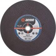 Disco de Corte Aço Profissional Aeme DCA 402 12 x 1/8 x 1 Pol